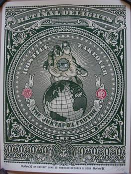 Shepard Fairey, The Juxtapoz Factor (Rays)