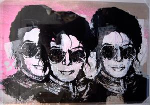 Mr. Brainwash, King of Pop Triptych