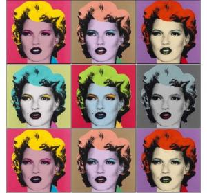 Banksy, Kate Moss Colorways