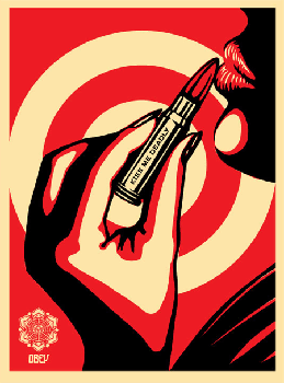 Shepard Fairey, Kiss Me Deadly Red