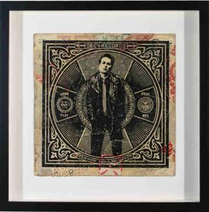 Shepard Fairey, Know Your Rights (Strummer) Album Cover HPM