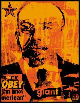 Shepard Fairey, Lenin Collage