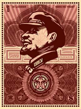 Shepard Fairey, Lenin Money