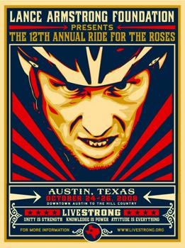Shepard Fairey, Livestrong Ride for the Roses