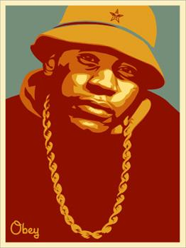 Shepard Fairey, LL Cool J Red