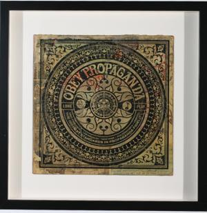 Shepard Fairey, Long Play Propaganda Album Cover HPM