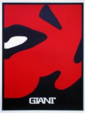 Shepard Fairey, Four Panel Red Face - Lower Right