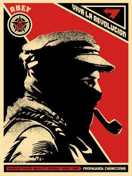 Shepard Fairey, Marcos Profile Poster