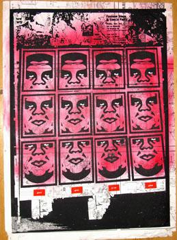Shepard Fairey, New York Wall Variant