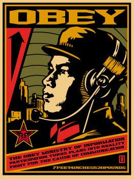 Shepard Fairey, Ministry of Information