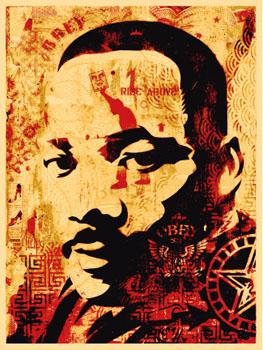 Shepard Fairey, MLK Jr