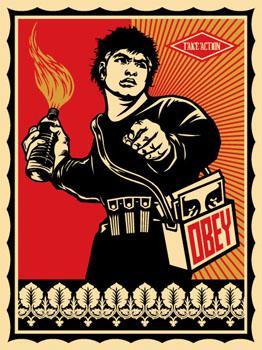 Shepard Fairey, Molotov Man