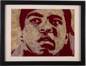 Shepard Fairey, Muhammad Ali Rubylith