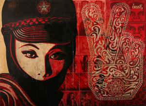 Shepard Fairey, Mujer Fatal Installation