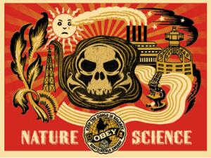 Shepard Fairey, Nature Science Gold