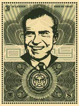 Shepard Fairey, Nixon Money