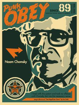 Shepard Fairey, Noam Chomsky