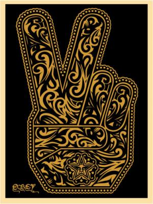 Shepard Fairey, Peace Fingers