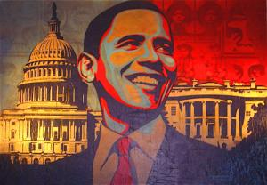 Shepard Fairey, Obama Manifest Hope DC Installation