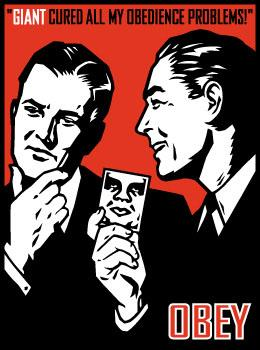 Shepard Fairey, Obedience Problems