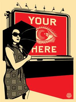 Shepard Fairey, Obey Billboard (Eye)