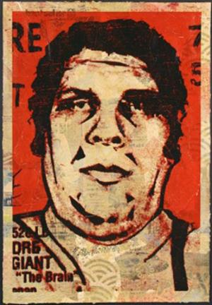 Shepard Fairey, Obey '89 HPM on Paper
