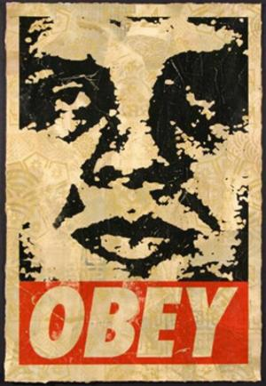 Shepard Fairey, Obey '95 HPM on Paper