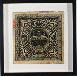 Shepard Fairey, Obey Fidelity Album Cover HPM