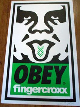Shepard Fairey, Obey Fingercroxx 
