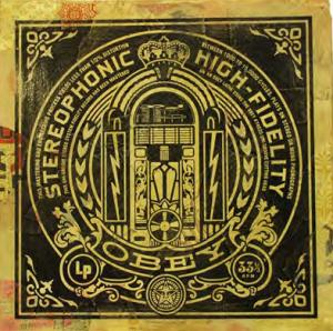 Shepard Fairey, Obey Jukebox Album Cover HPMsh