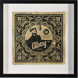 Shepard Fairey, Obey Records Stevie Album Cover HPM