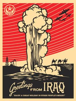Shepard Fairey, Greetings from Iraq