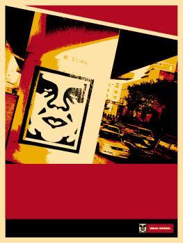 Shepard Fairey, Osaka Highway Poster