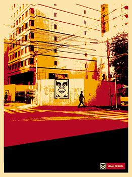 Shepard Fairey, Osaka Wall