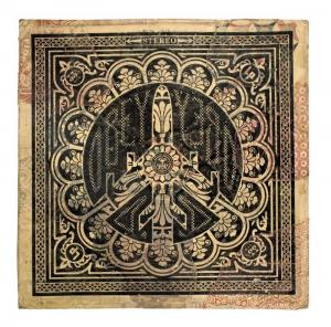 Shepard Fairey, Peace Bomber Album Cover HPM