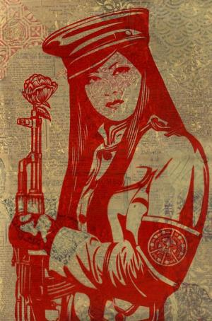 Shepard Fairey, Peace Guard Rubylith