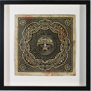 Shepard Fairey, Peace Ornament Album Cover HPM