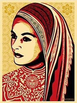 Shepard Fairey, Peace Woman (Kenwood Vineyards Edition)