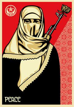 Shepard Fairey, Muslim Woman Offset