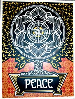 Shepard Fairey, Peace Tree Gift