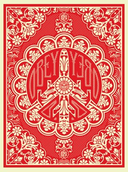 Shepard Fairey, Peace Bomber Red