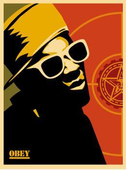 Shepard Fairey, Flava Flav Poster