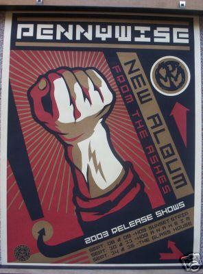 Shepard Fairey, Pennywise Poster