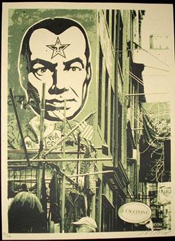 Shepard Fairey, Post No Bills Set Big Brother 2