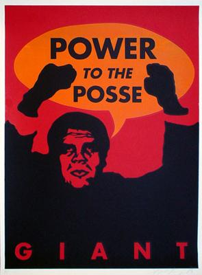 Shepard Fairey, Giant Power to the Posse