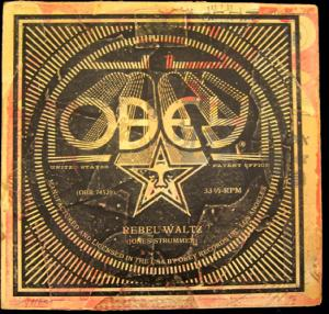 Shepard Fairey, Rebel Waltz Album Cover HPM 