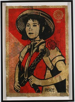 Shepard Fairey, Revolution Woman HPM