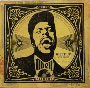 Shepard Fairey, Rip It Up Album Cover HPM