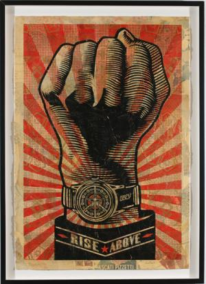 Shepard Fairey, Rise Above Fist HPM