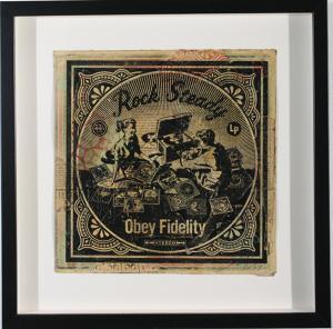 Shepard Fairey, Rock Steady Album Cover HPM